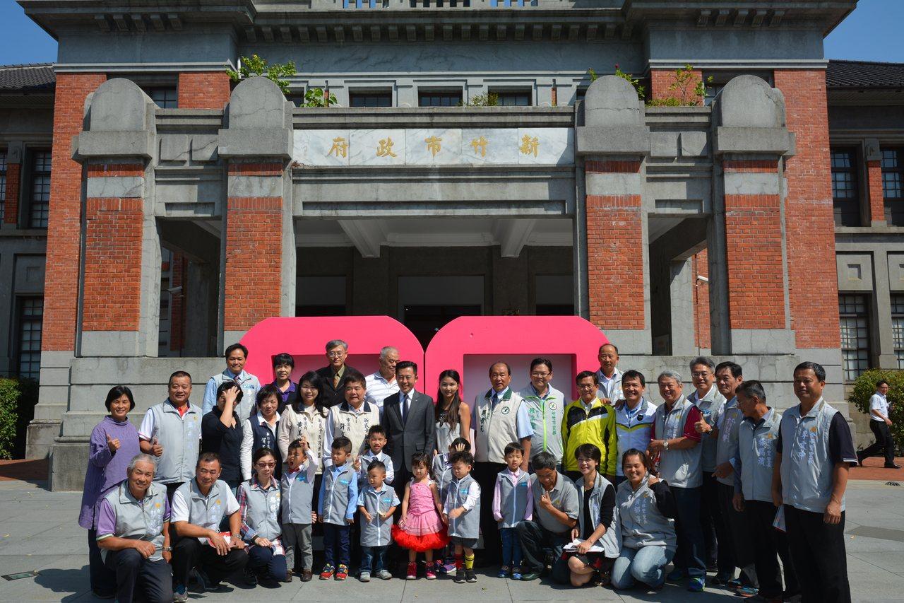 新竹市政府將自28日起舉行新竹州廳啟用90周年系列活動,市議員鄭正鈐批評「州廳狂...