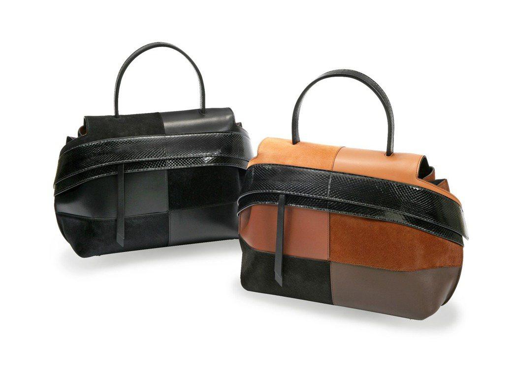 蛇皮拼接TODS Wave Bag,10萬8,100元。圖/迪生提供
