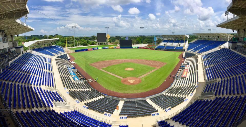 Nicaragua Nieuw Nationaal Stadion.  Figuur / Murray Cook voorzien