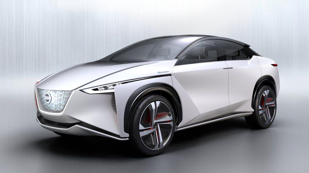 日產概念電動車IMx亮相。(圖/取自網路)