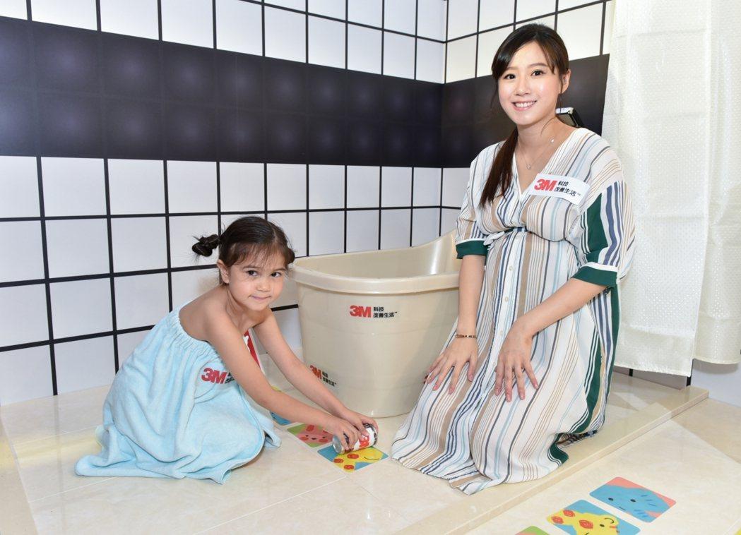 方志友與小童星一起出席活動。圖/3M提供