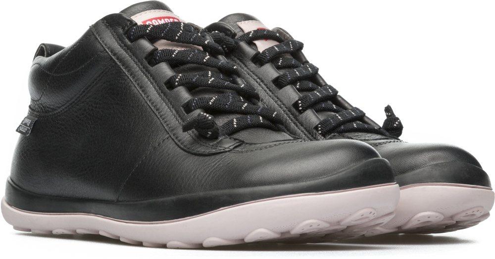 Camper Peu Pista系列黑色粉底GORE-TEX短靴,約9,980元...