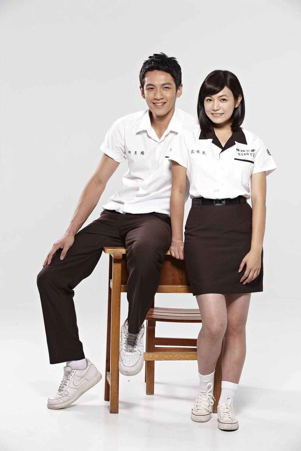 柯震東和陳妍希因演出「那些年,我們一起追的女孩」紅遍兩岸三地。圖/索尼音樂提供