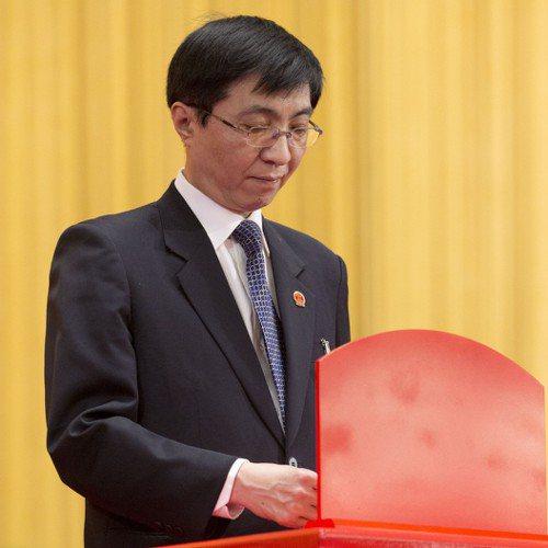 新常委王滬寧是學者出身,與台灣有過一段淵源。 中新社資料照