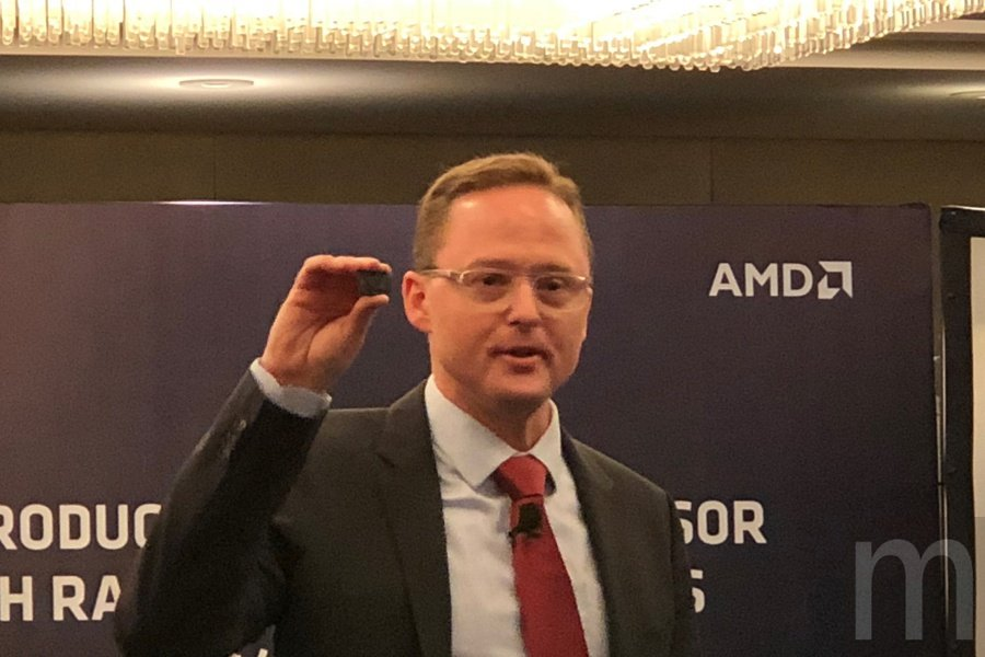 AMD全球資深副總裁暨繪圖事業群總經理Jim Anderson。