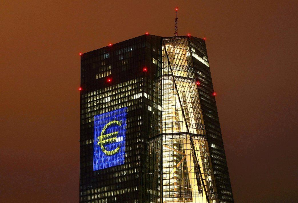歐洲央行(ECB)總部。路透
