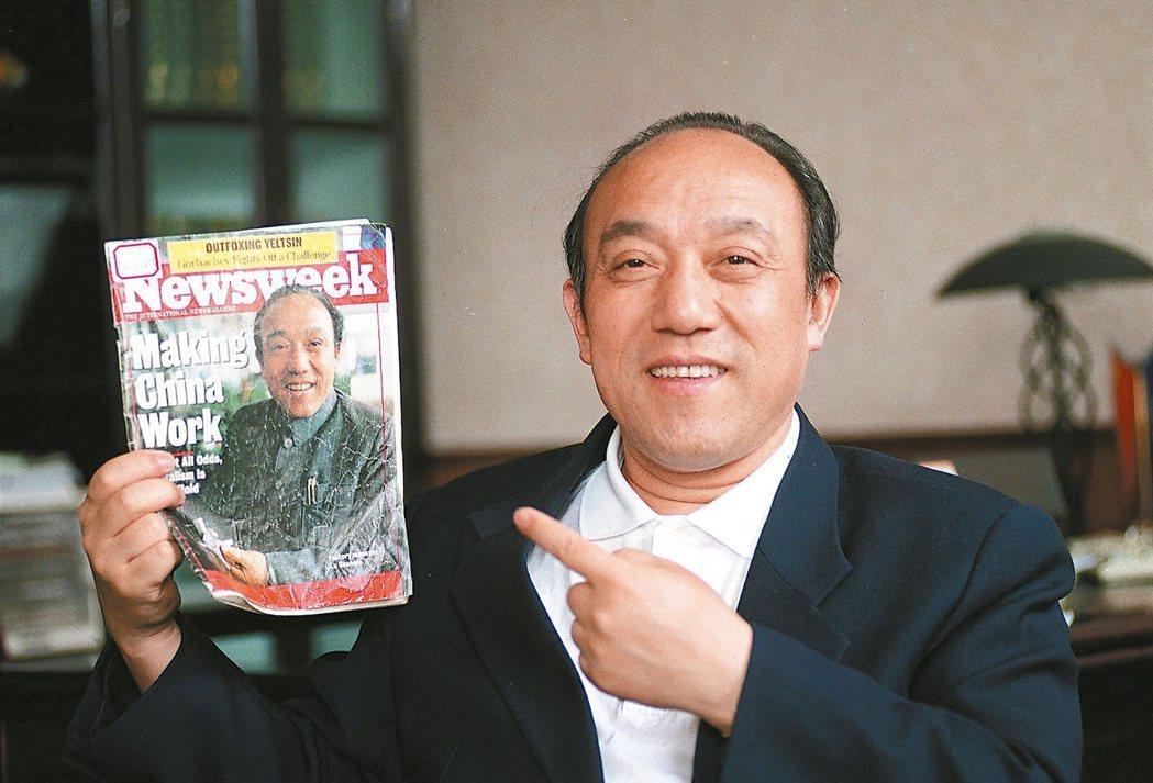 浙江萬向集團董事局主席魯冠球於10月25日逝世,享年74歲。聯合報系資料照