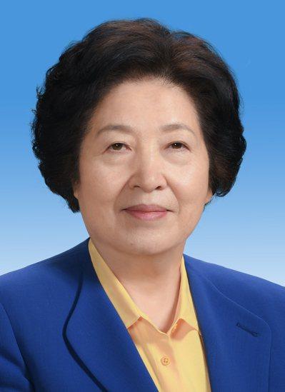 19大政治局唯一女委員孫春蘭。新華社