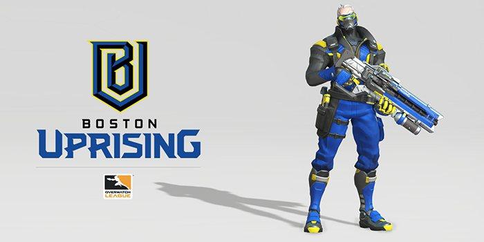 《鬥陣特攻》職業電競聯賽波士頓戰隊宣布隊伍名稱為 Boston Uprising...