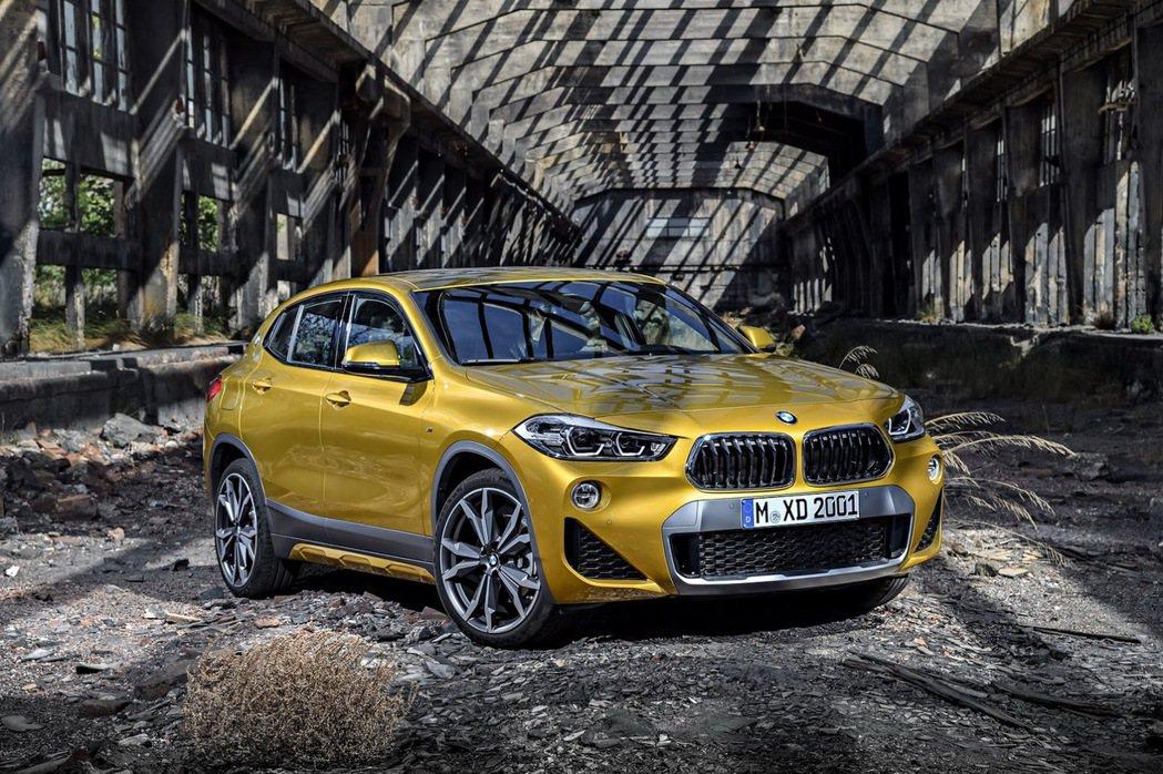 全新BMW X2軸距為2670mm,與BMW X1(F48)相同。 摘自BMW