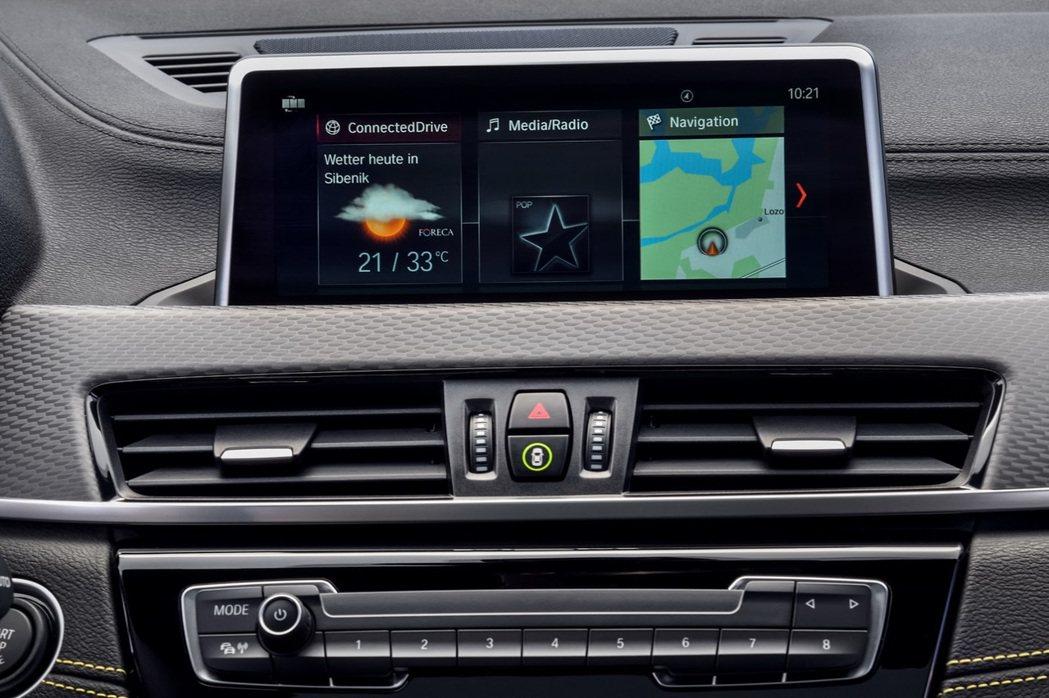 獨立式液晶觸控式螢幕為6.5吋(標配)。 摘自BMW