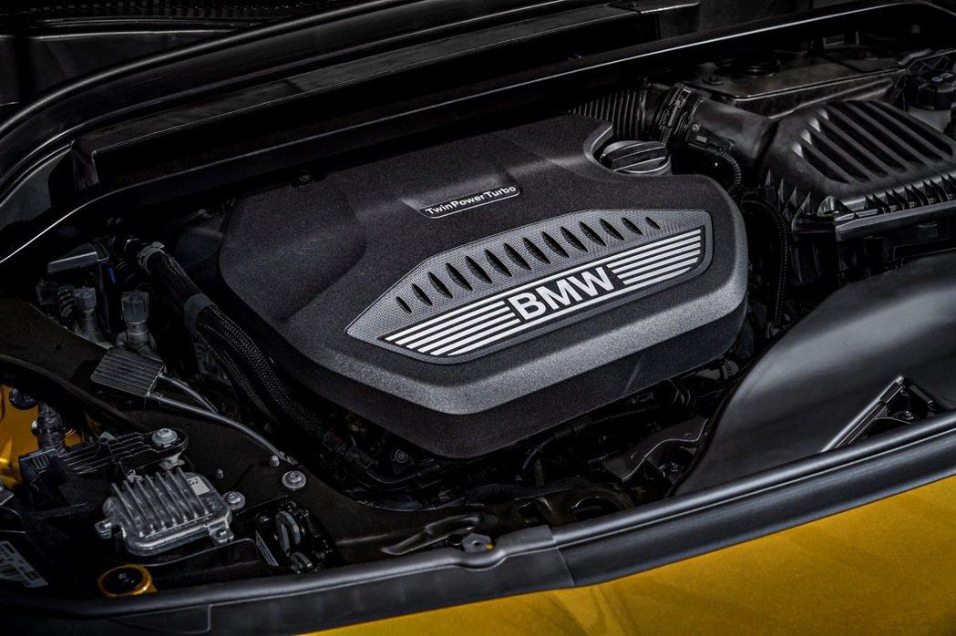 BMW X2 xDrive20d與BMW X2 xDrive25d,兩款車型皆搭載2.0升TwinPower Turbo直列四缸汽柴油引擎。 摘自BMW