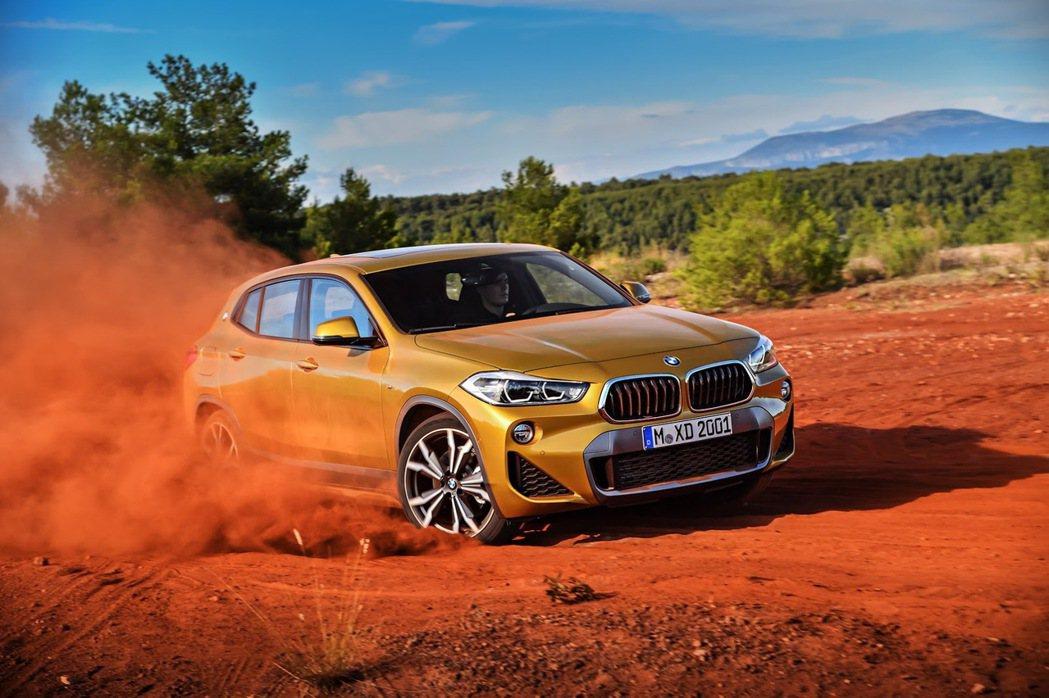全新BMW X2。 摘自BMW