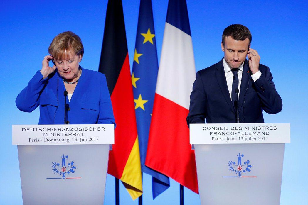 對於法國而言,德國選舉的結果並不是梅克爾一人的挫敗,更可以說是對馬克宏原先推動的...