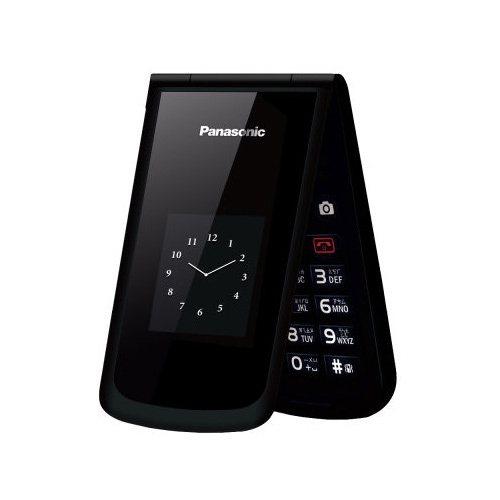 Panasonic VS-100 3G 按鍵式摺疊手機 (原廠公司貨) 晶綻黑+...
