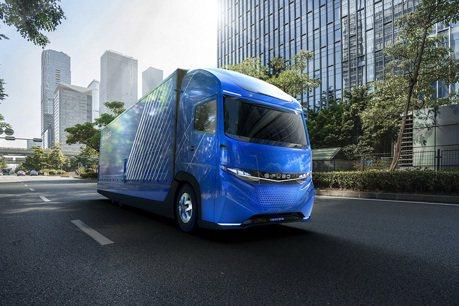 戴姆勒發表E-Fuso Vision One電動概念卡車