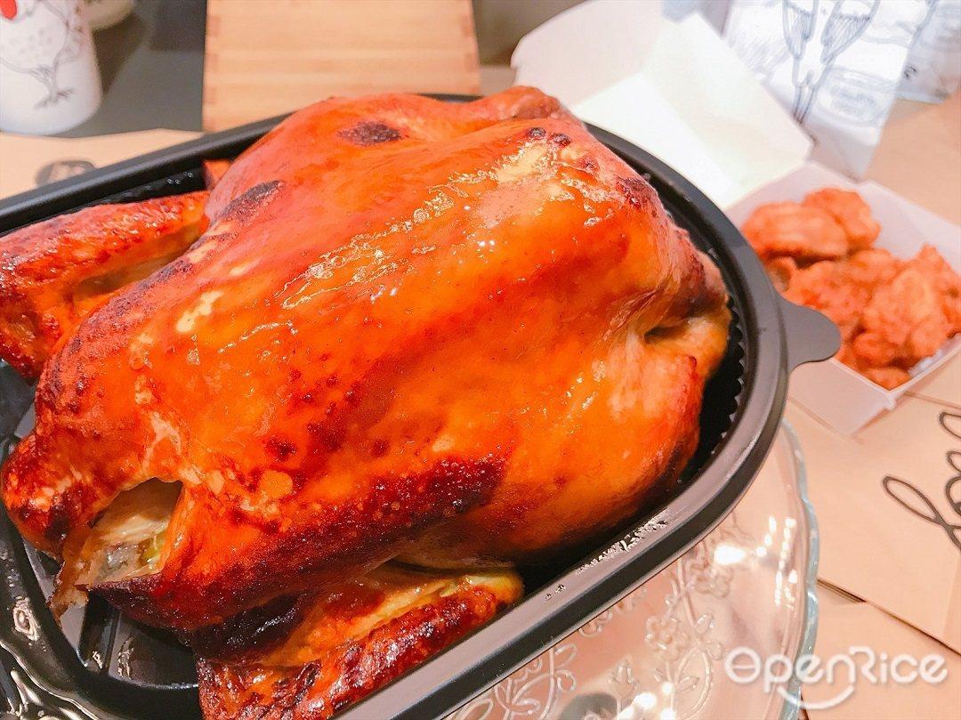 ▲經典手扒雞價格為469元, 2人分享餐為599元(內含手扒土雞1份、香蔥飯1份...