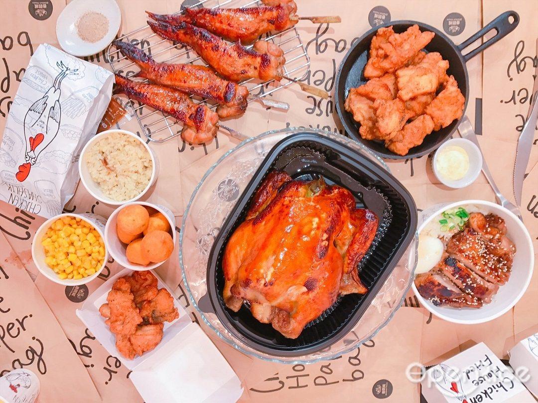 ▲香雞城旗艦店推出雞蓉玉米濃湯、無骨炸雞、香烤雞翅等必點美味!