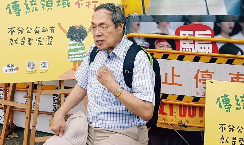 作家陳芳明。聯合報系資料照