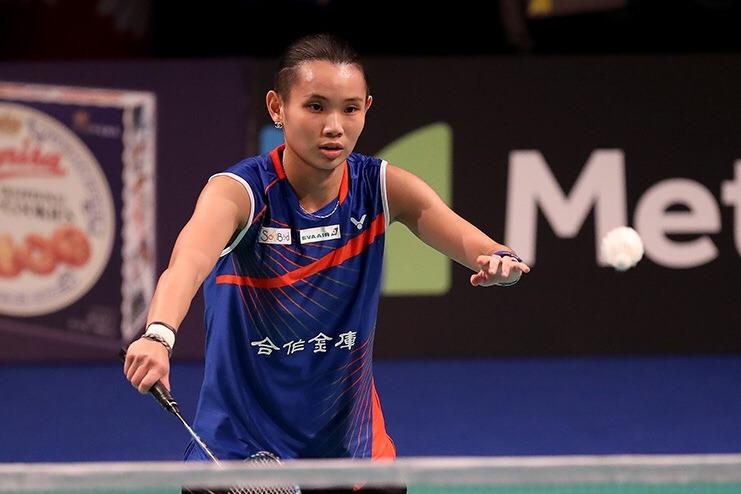 戴資穎法國超羽賽首戰3局晉級。 圖/Badminton Photo提供(資料...