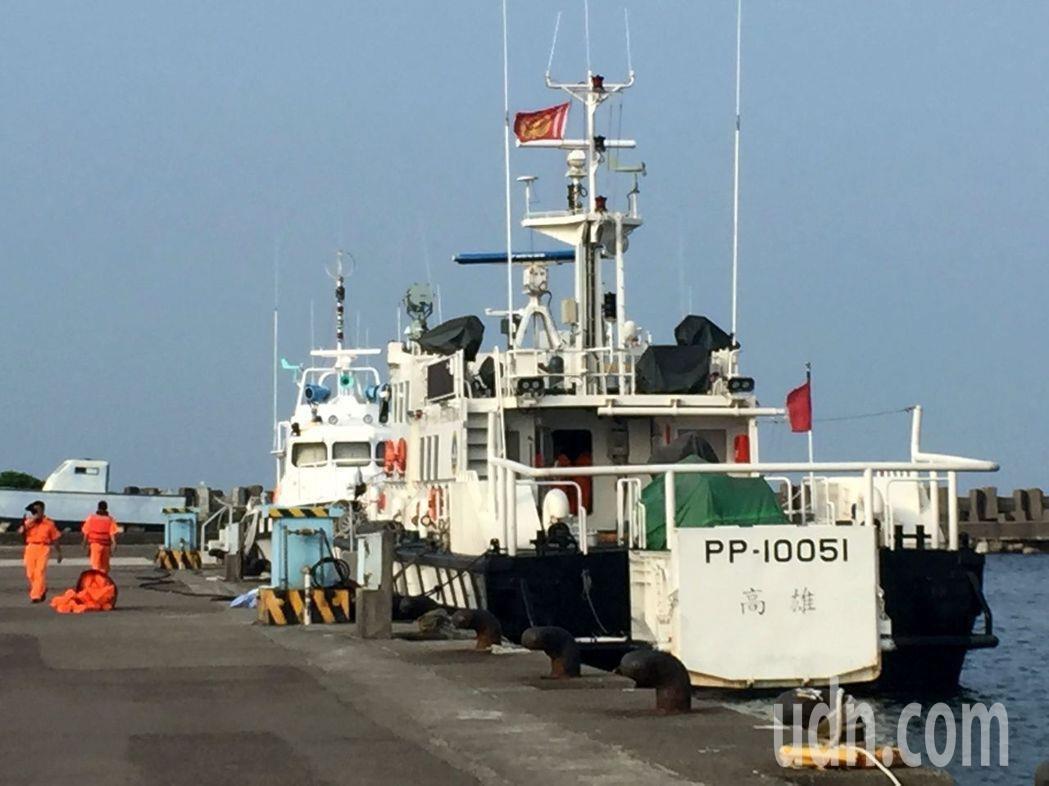 李仲威表示,依照海巡署組織法,海巡必要時要接受國防部作戰管制,但「我沒有要把海巡...