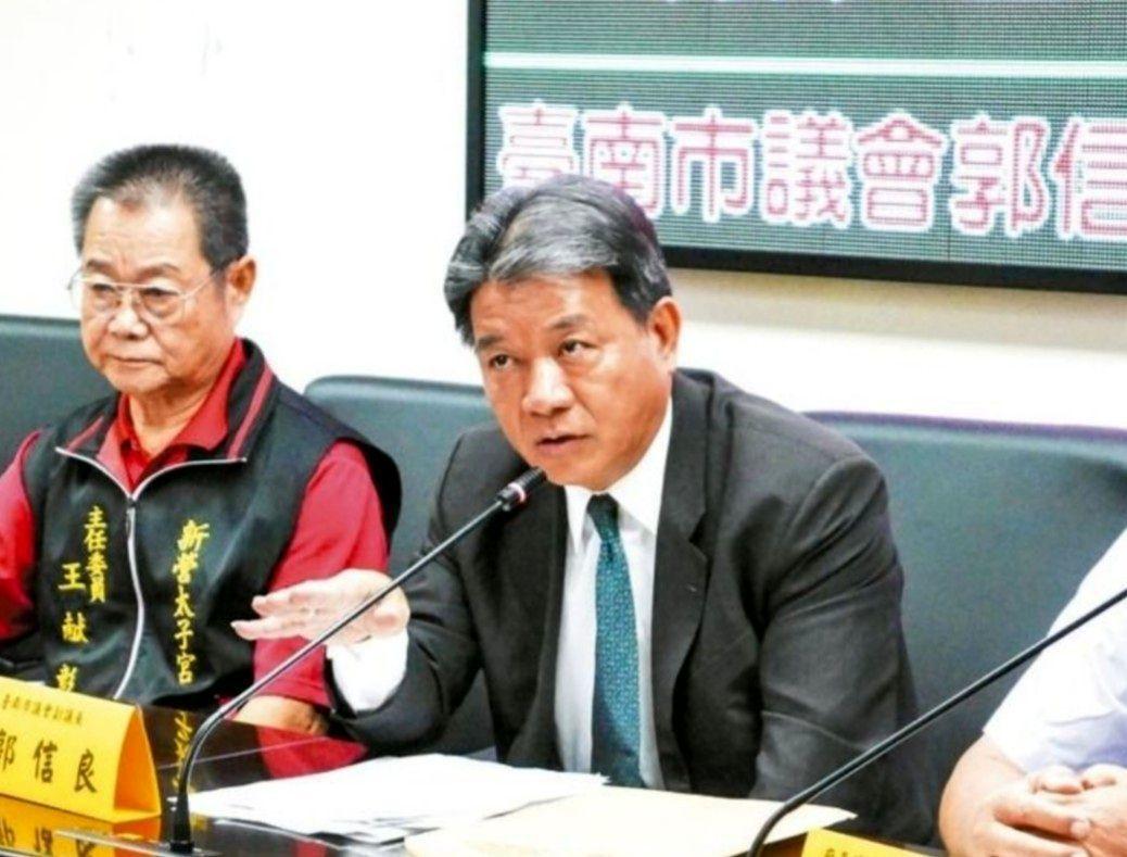 郭信良被控為廠商喬環評索賄,午高院宣判無罪。圖/報系資料照