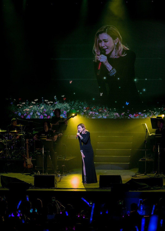 范瑋琪在美加巡演吸引許多歌迷前往觀賞。圖╱福茂唱片提供