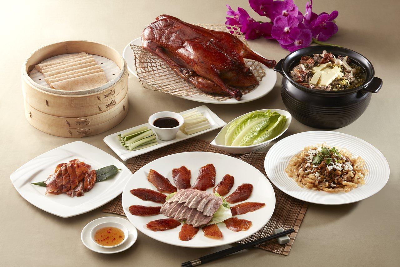 台北喜來登推出一鵝四吃的金鵝御宴。圖/台北喜來登提供