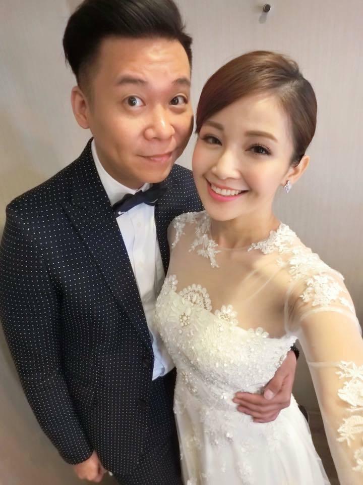 鍾欣怡(右)和孫樂欣結婚剛好滿兩周年。圖/摘自鍾欣怡臉書