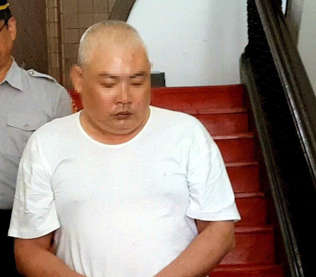 槍斃妻子的施信誠曾嗆法官不敢判死,最後真的沒判死。報系資料照/記者王宏舜攝影