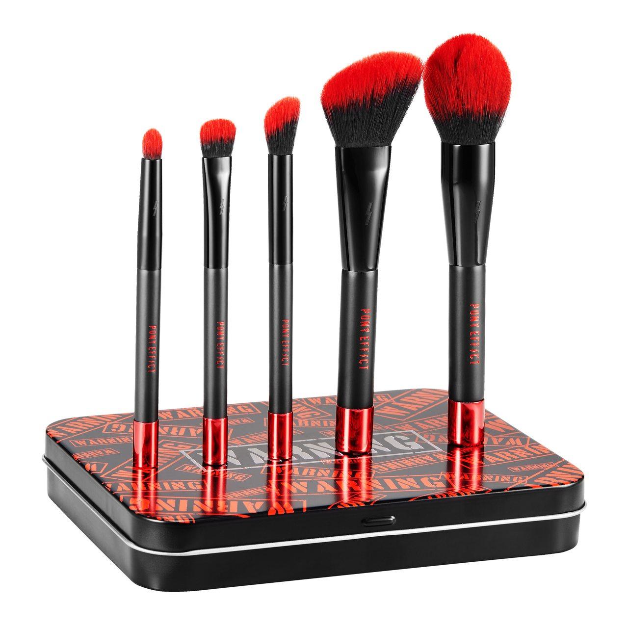 PONY EFFECT紅色警戒磁力刷具組,售價990元。圖/PONY EFFEC...