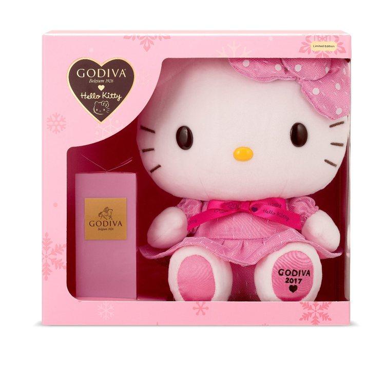 Hello Kitty 2017限量版巧克力禮盒,售價1,950元。圖/GODI...