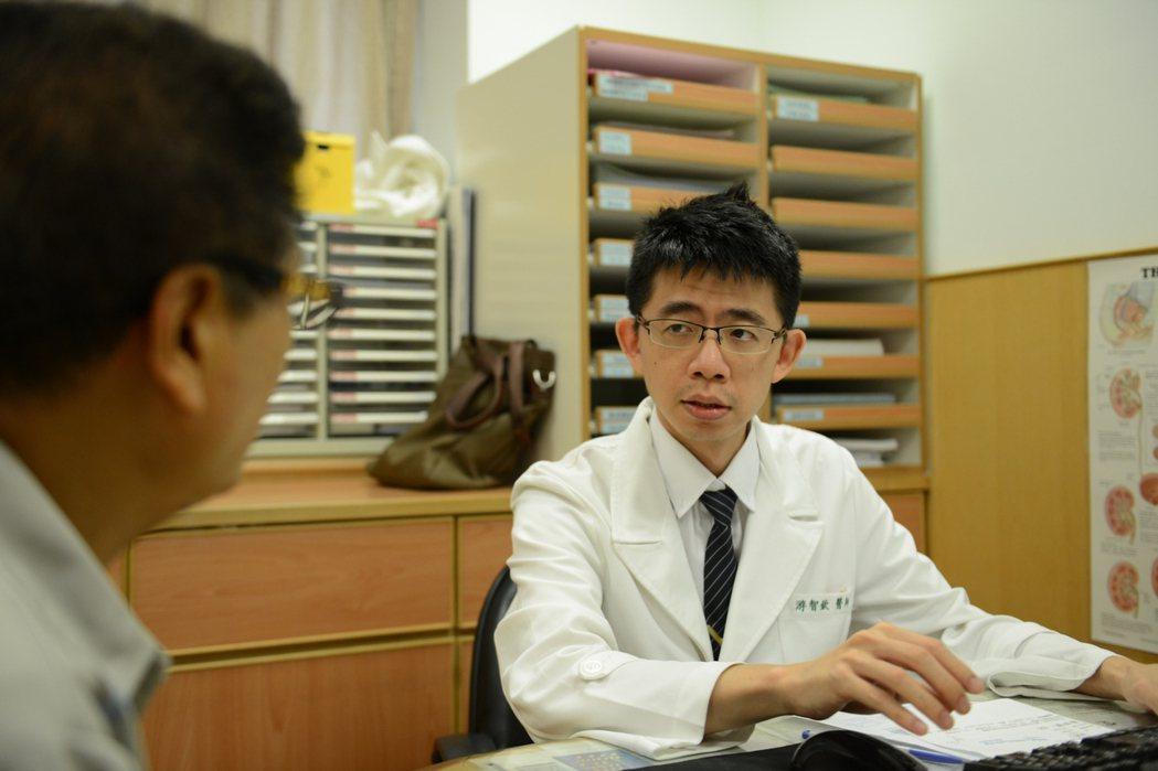 台北慈濟醫院泌尿科醫師游智欽。圖/台北慈濟醫院提供