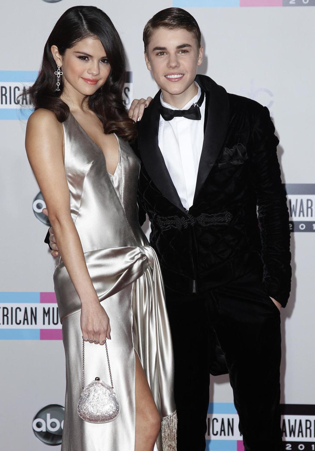 小賈斯汀與席琳娜曾是粉絲支持的樂壇偶像情侶檔。圖/路透資料照片