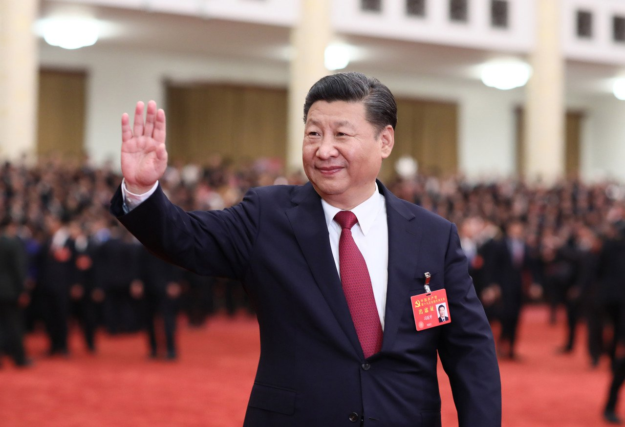 中共十九大落幕,中國大陸進入習近平新時代。新華社