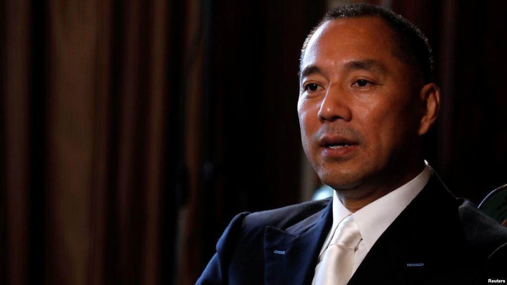 流亡海外的中國富豪郭文貴。 (路透)