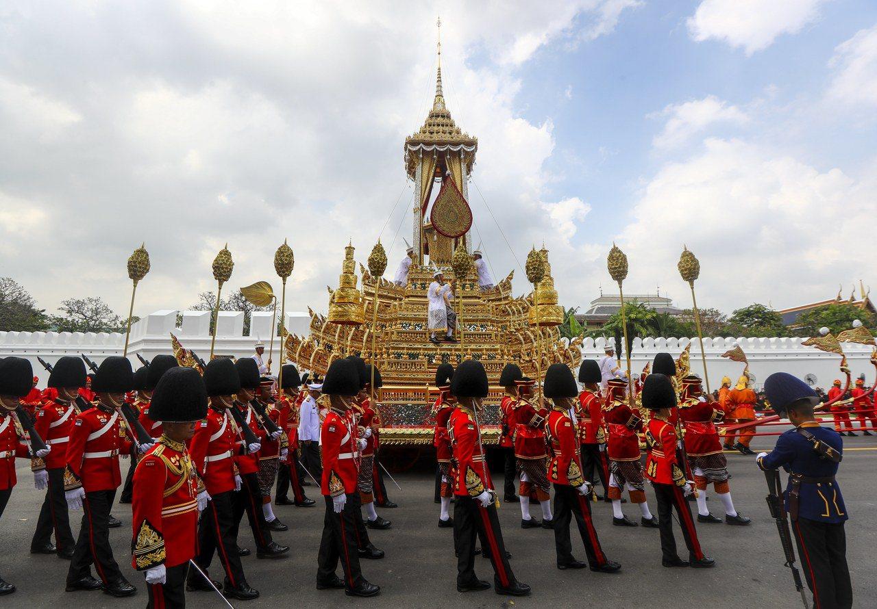 泰王火化象徵泰國進入新時期。歐新社