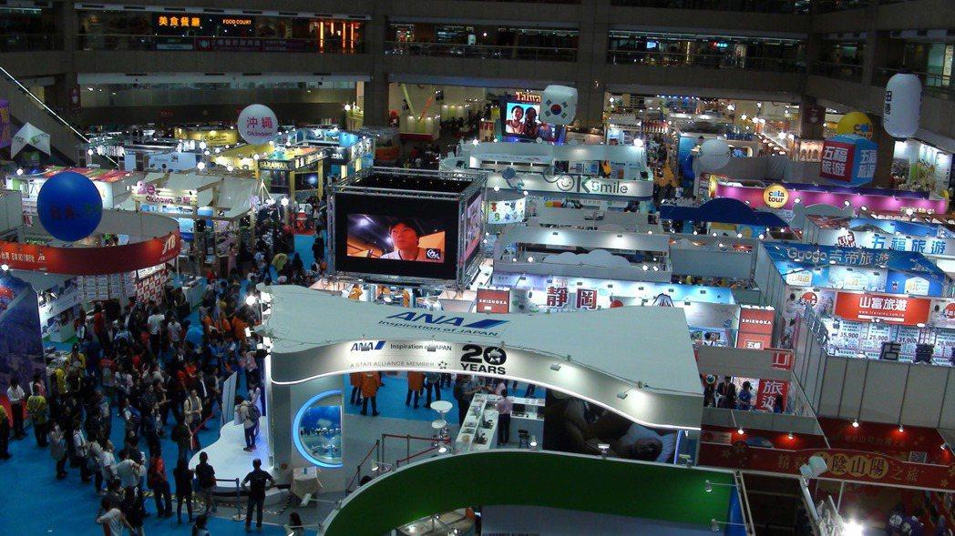 2017台北國際旅展盛大開幕,今年共有60國、950個觀光單位、1,650個攤位...
