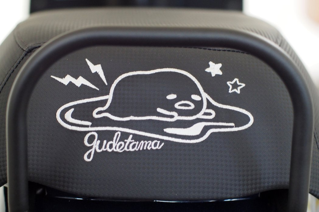 全新式樣Gudetama 蛋黃哥 J-bubu 125聯名限量版坐墊後方的蛋黃哥...