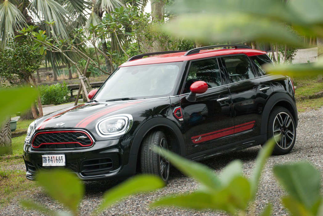 Mini John Cooper Works Countryman ALL4。記者林昱丞/攝影
