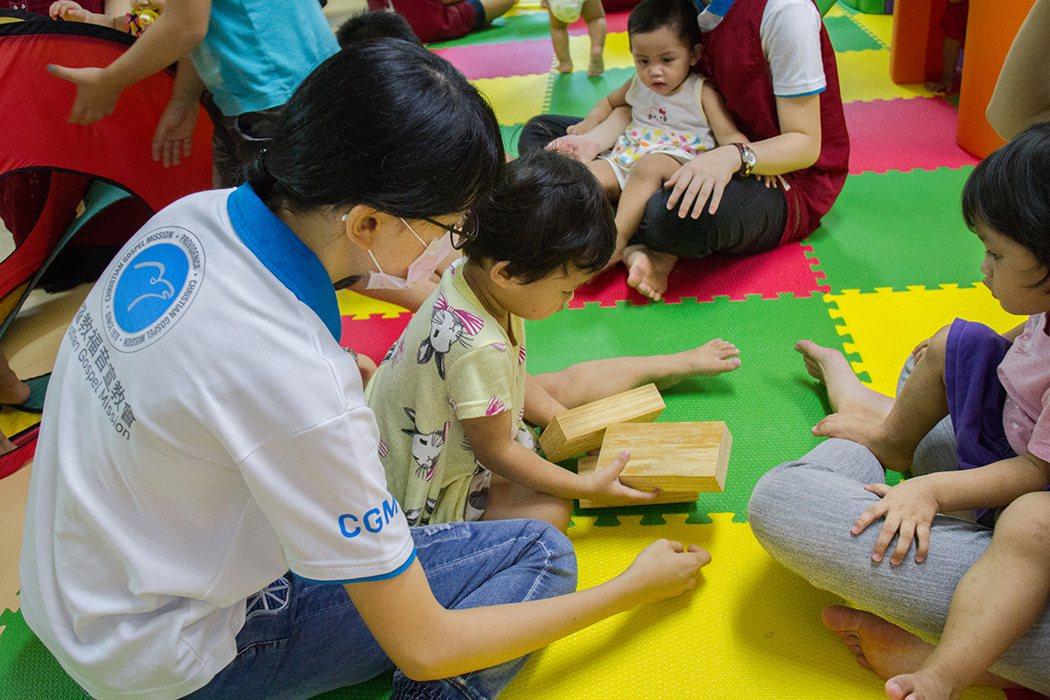 遊戲中幫助孩子認知思考及創造力。圖/CGM 提供