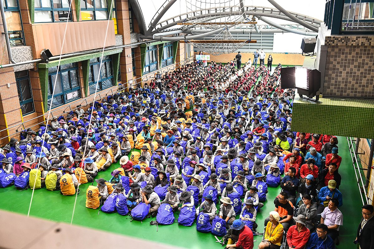 康橋國際學校青山校區25日舉辦圓夢雪山啟動儀式 圖/康橋 提供