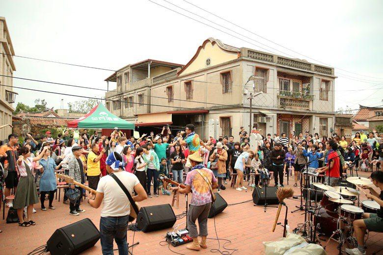 金門土豆音樂祭。 圖/聯合報系資料照