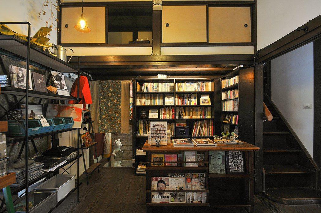 「賣捌所」保留著完整日式房屋的構造。