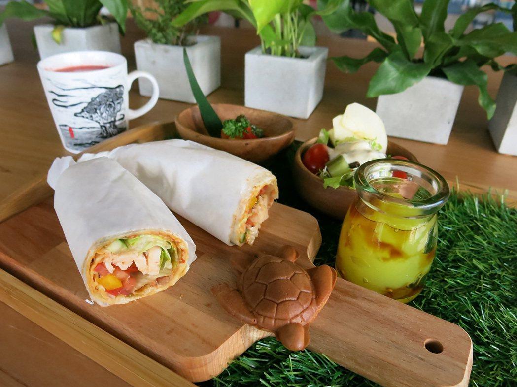 朵小路早餐豐富,偶有可愛「海龜燒」。