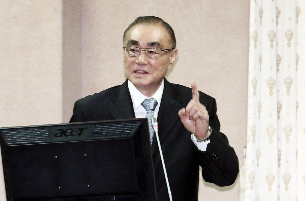 國防部長馮世寛。聯合報系資料照