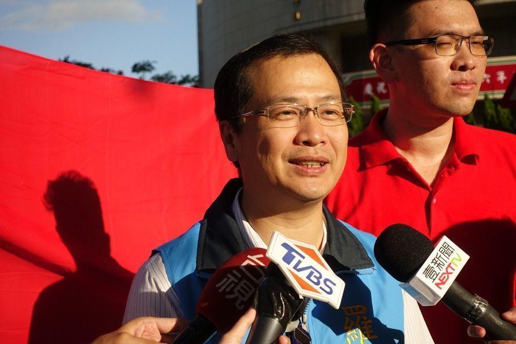 總統府前副秘書長羅智強。 聯合報系資料照片/記者邱瓊玉攝影