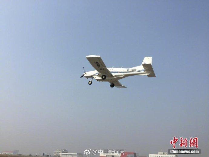 中國造全球首款噸位級貨運無人機成功首飛持續26分鐘。取自中新網