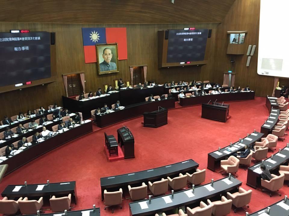 立法院院會開會情況。圖/聯合報系資料照
