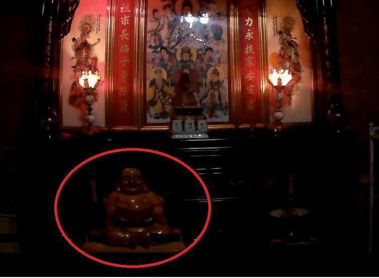 童姓男子月初騎車經過東勢一處民宅,入內偷走價值5000元的彌勒佛像;嫌犯表示「冥...